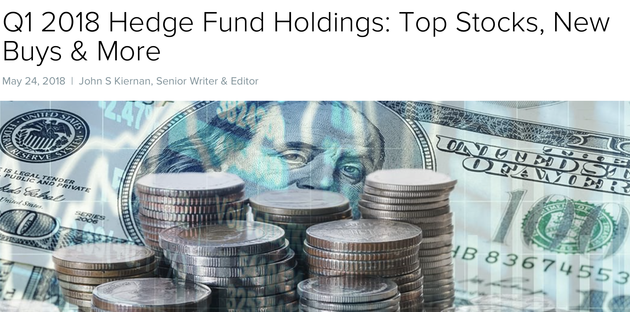 Q1 2018 Hedge Fund Holdings: Top Stocks, New Buys & More -