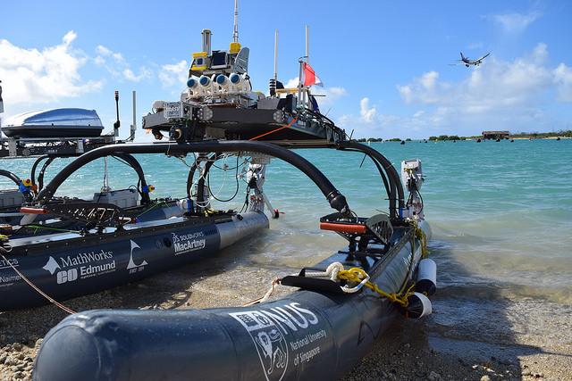 University of Sydney Robotics Club   Maritime RobotX Challenge    Learn More