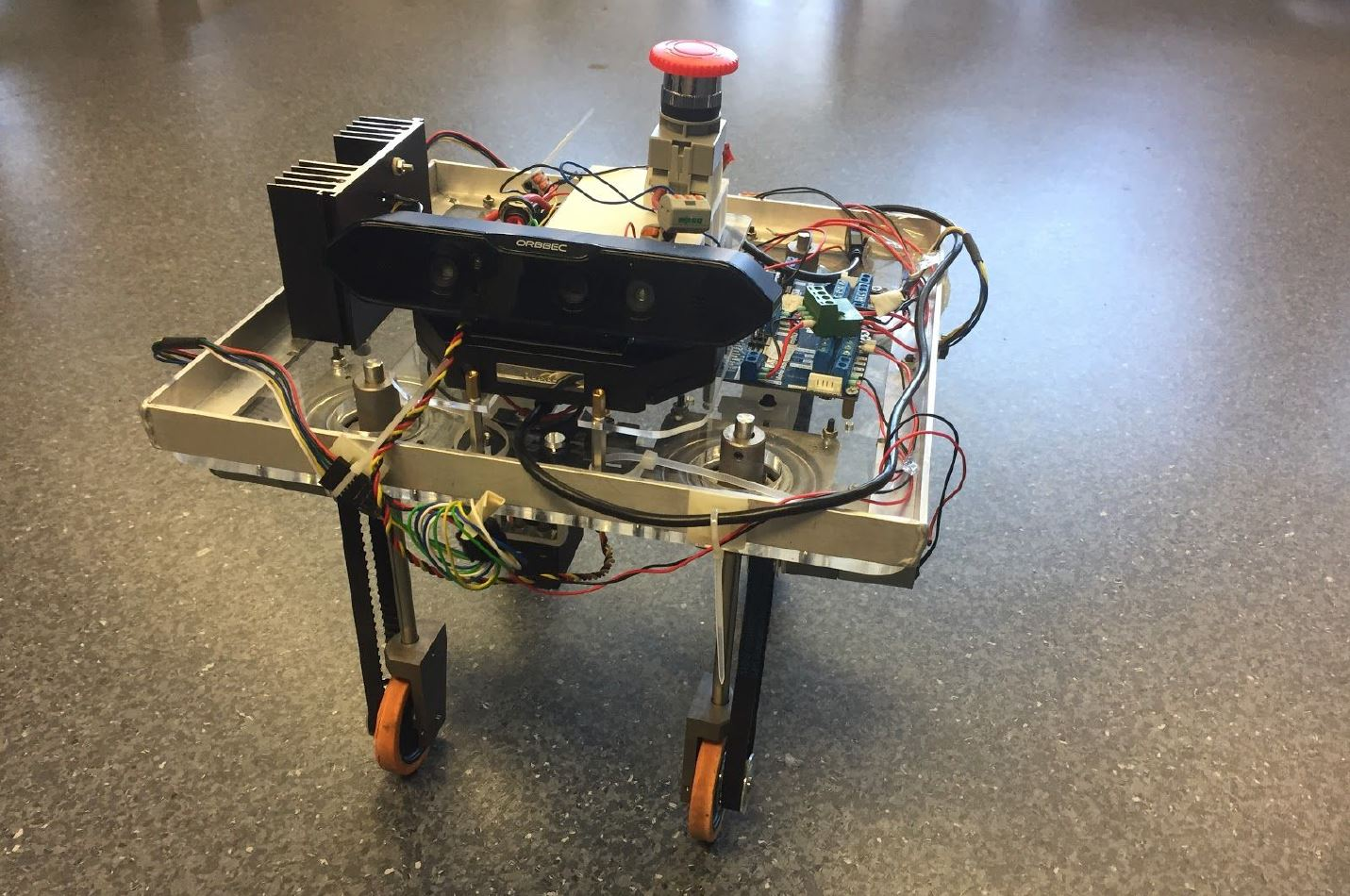 University of Sydney Robotics Club   NI Autonomous Robotics Competition    Check It Out