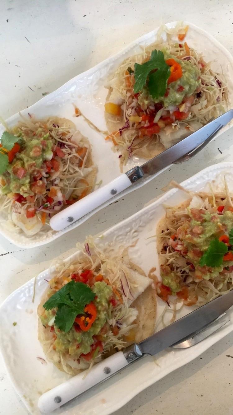 Zwat Café Fish Tacos