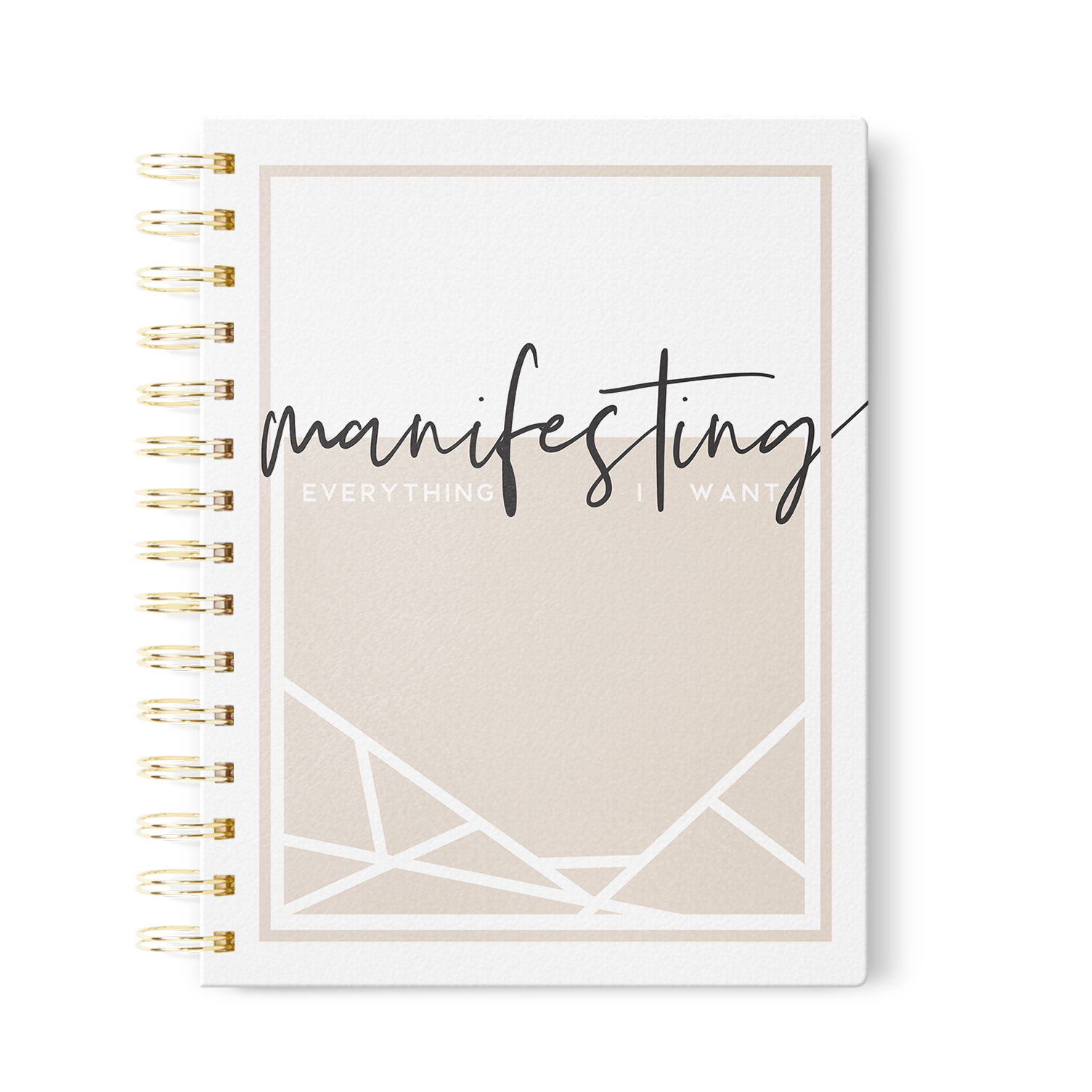 Manifesting Everything I Want Journal   in Dot Grid, Lined or Blank
