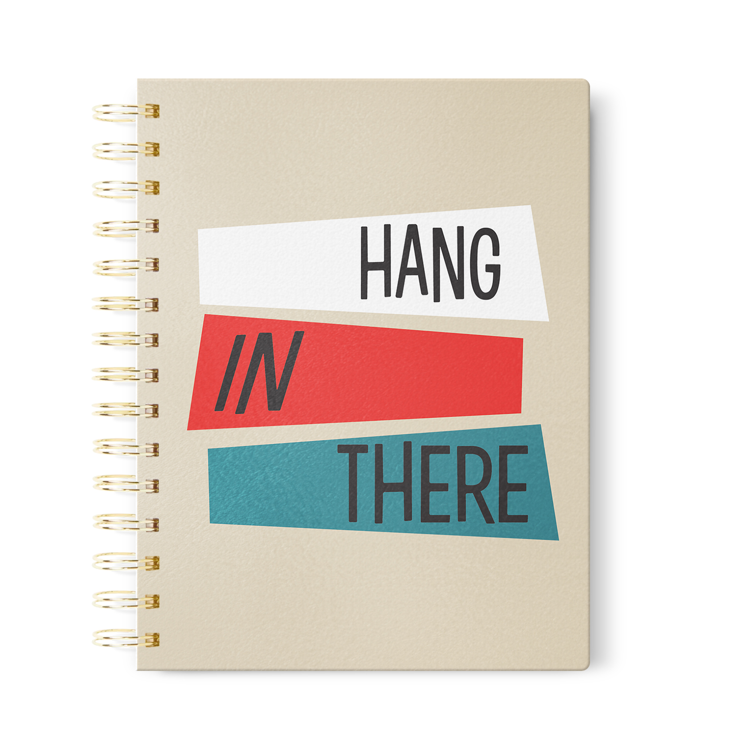 Hang in There Journal    in Dot Grid, Lined or Blank