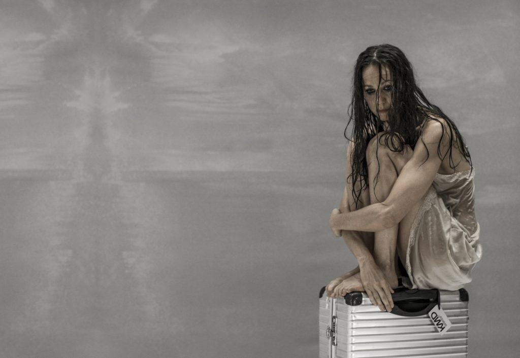 Katarina Stegnar as Alcestis. Photo: Aljoša Rebolj