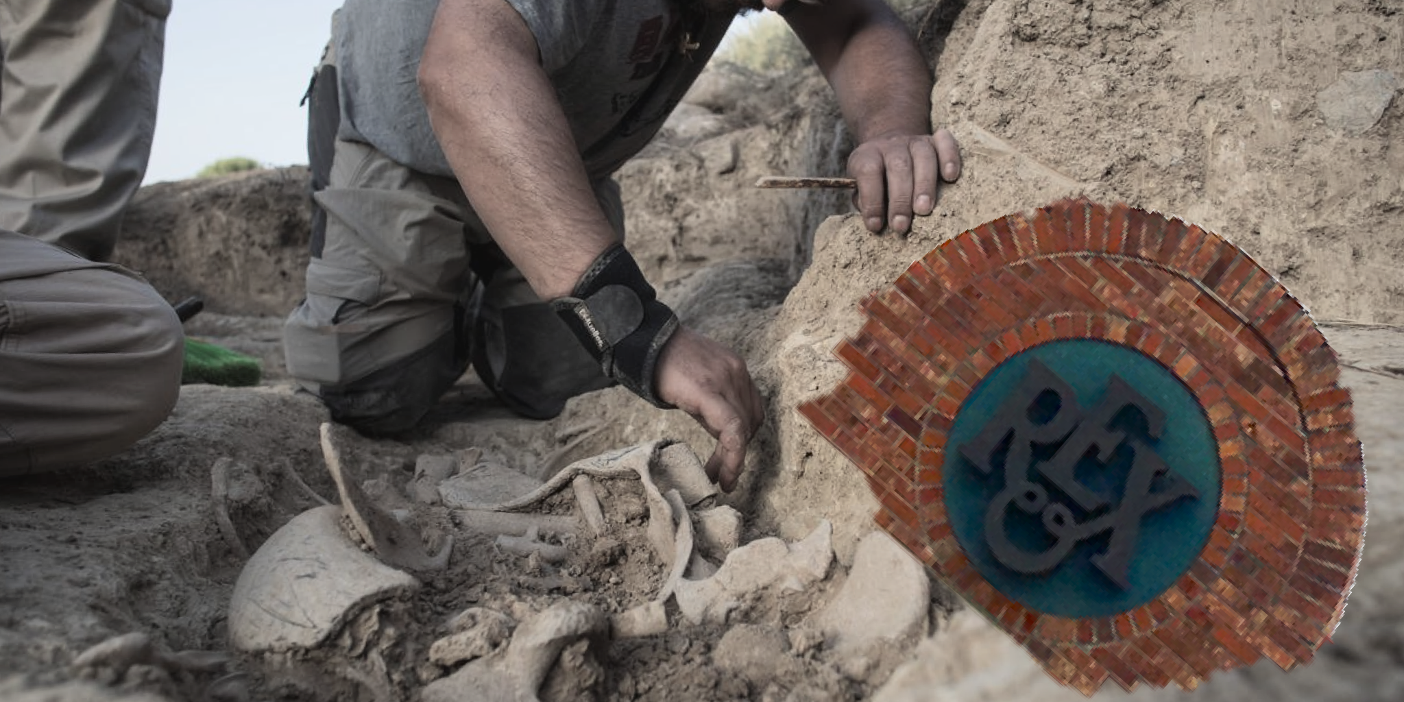 A paleontologist uncovers intact remains of a restaurant gone extinct