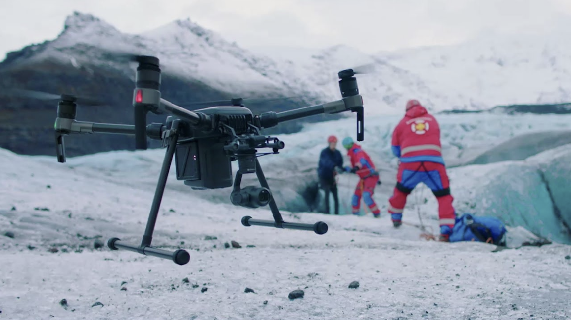 Drones at work - From taking photos to saving lives.