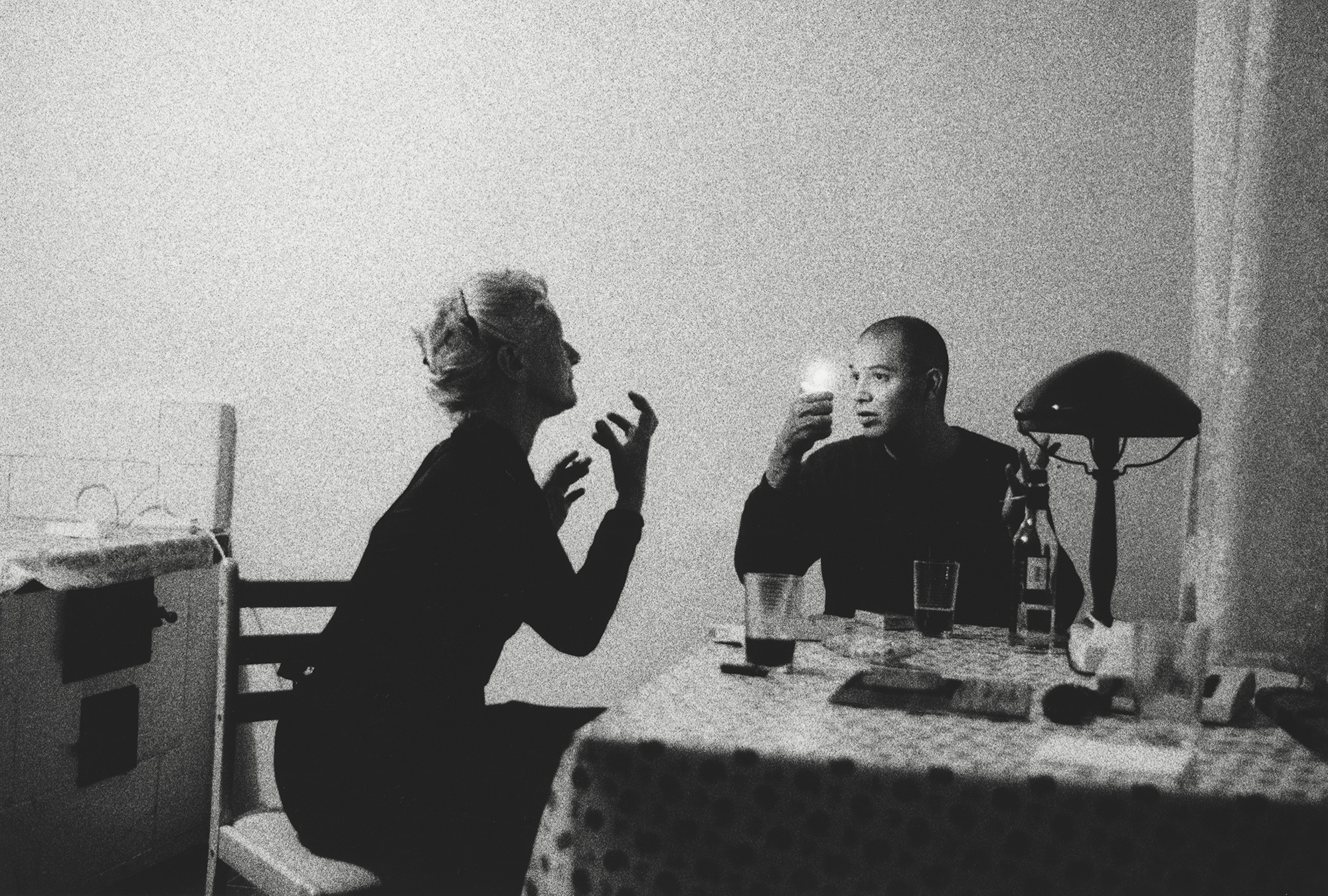 Paulita and Frank, St. Petersburg, Russia, 2001