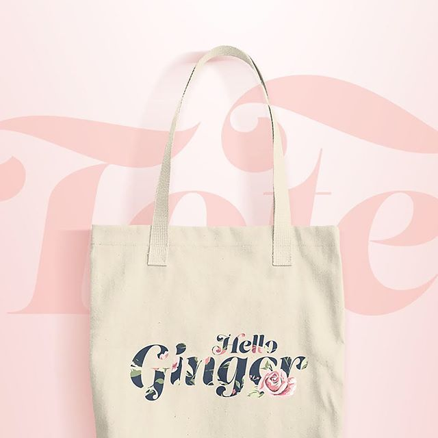 Get in the mood for Spring with our 'Hello Ginger' floral print tote bag! . #gingerskincare #teamginger #ginger #gingersunite #gingersdoitbetter #redhead #redheadsonly #skincare #allnatural #organic #naturalredhead #spring #totebag