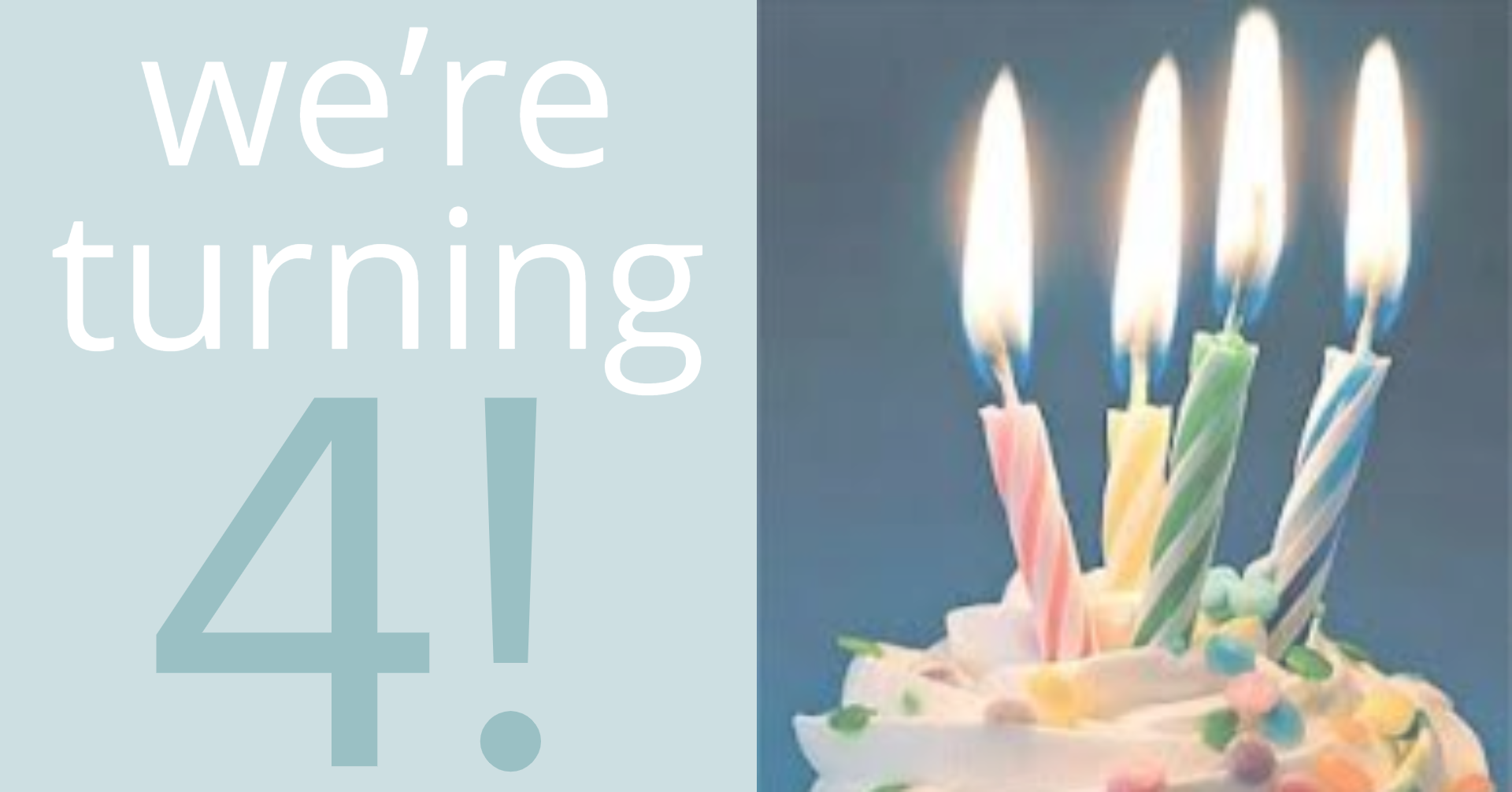 Come celebrate with us! - When: Saturday, July 27th, 2-4pmWhere: At Breathe