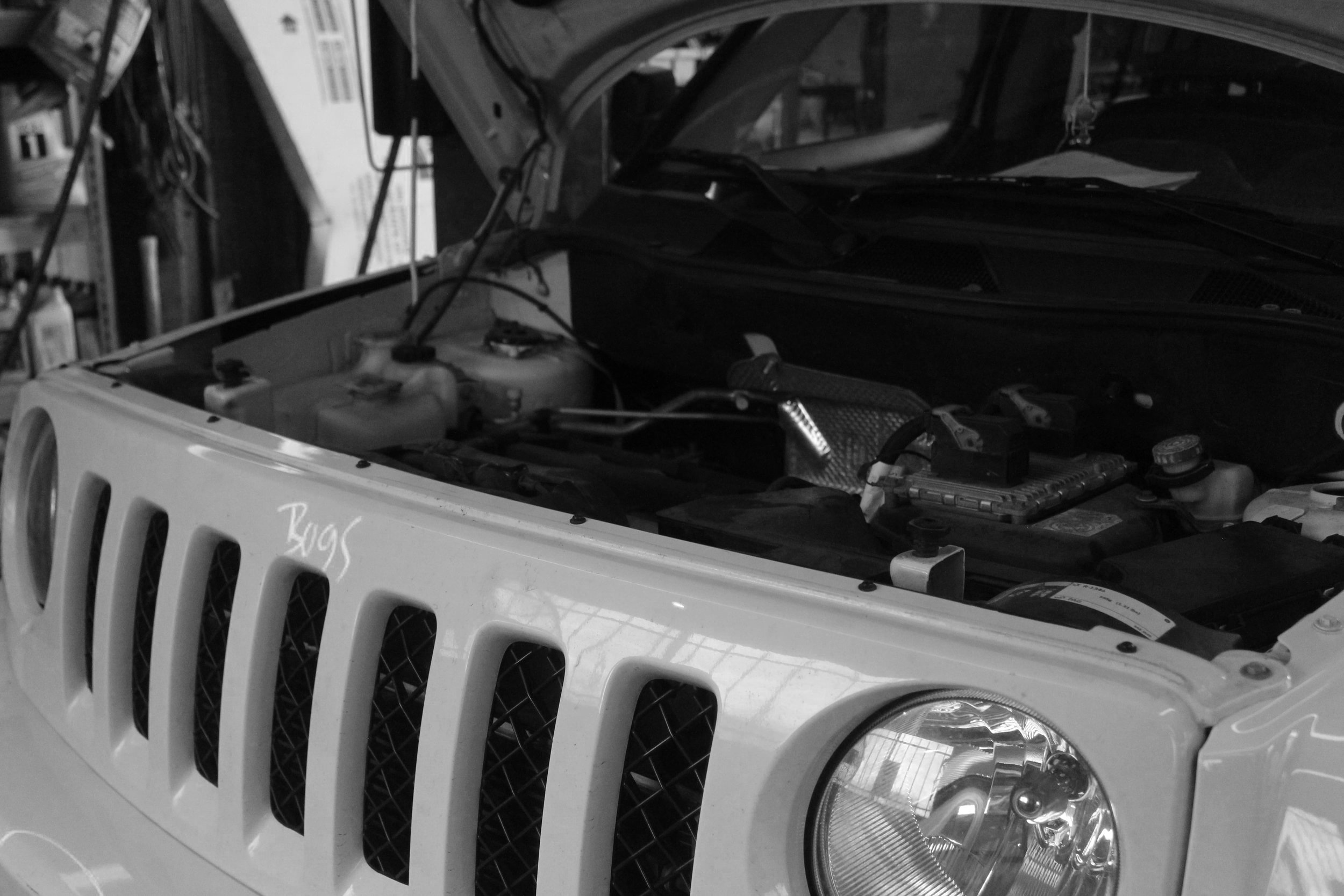 Mechanical auto repairs at body shops houston