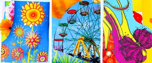 Collage Postcards -
