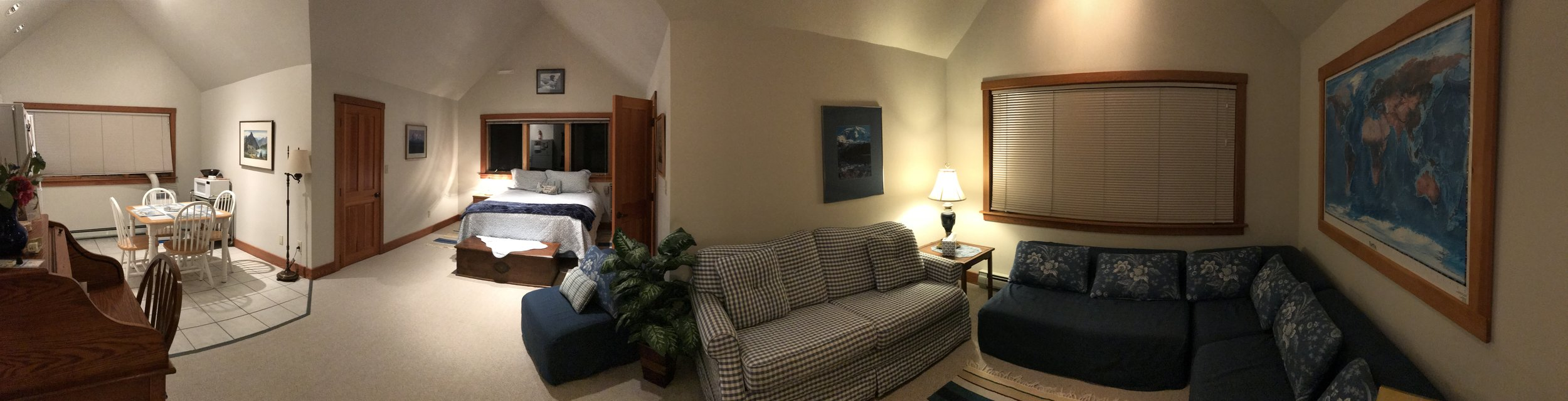 Full overview of apartment