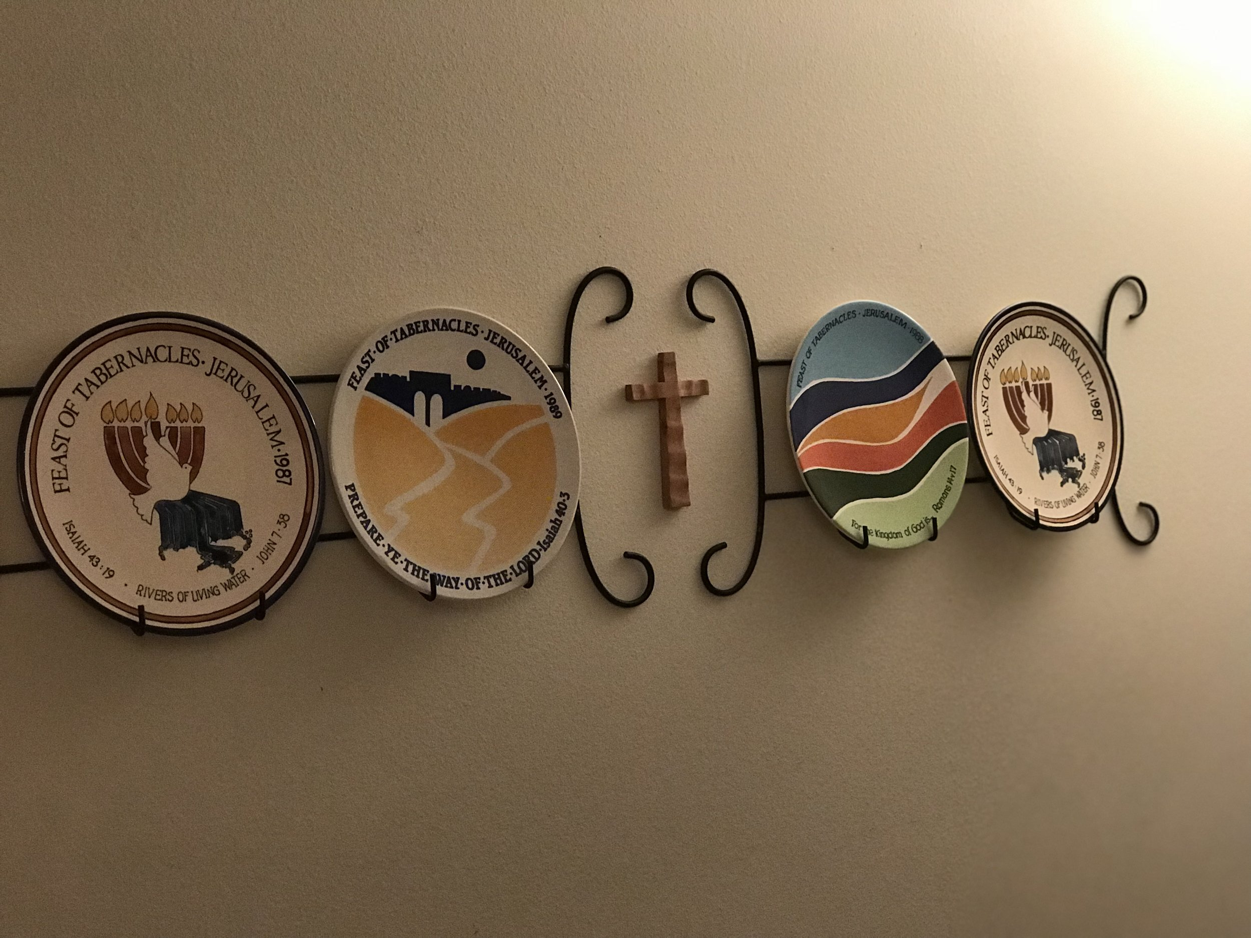 Decorative Plates from Israel