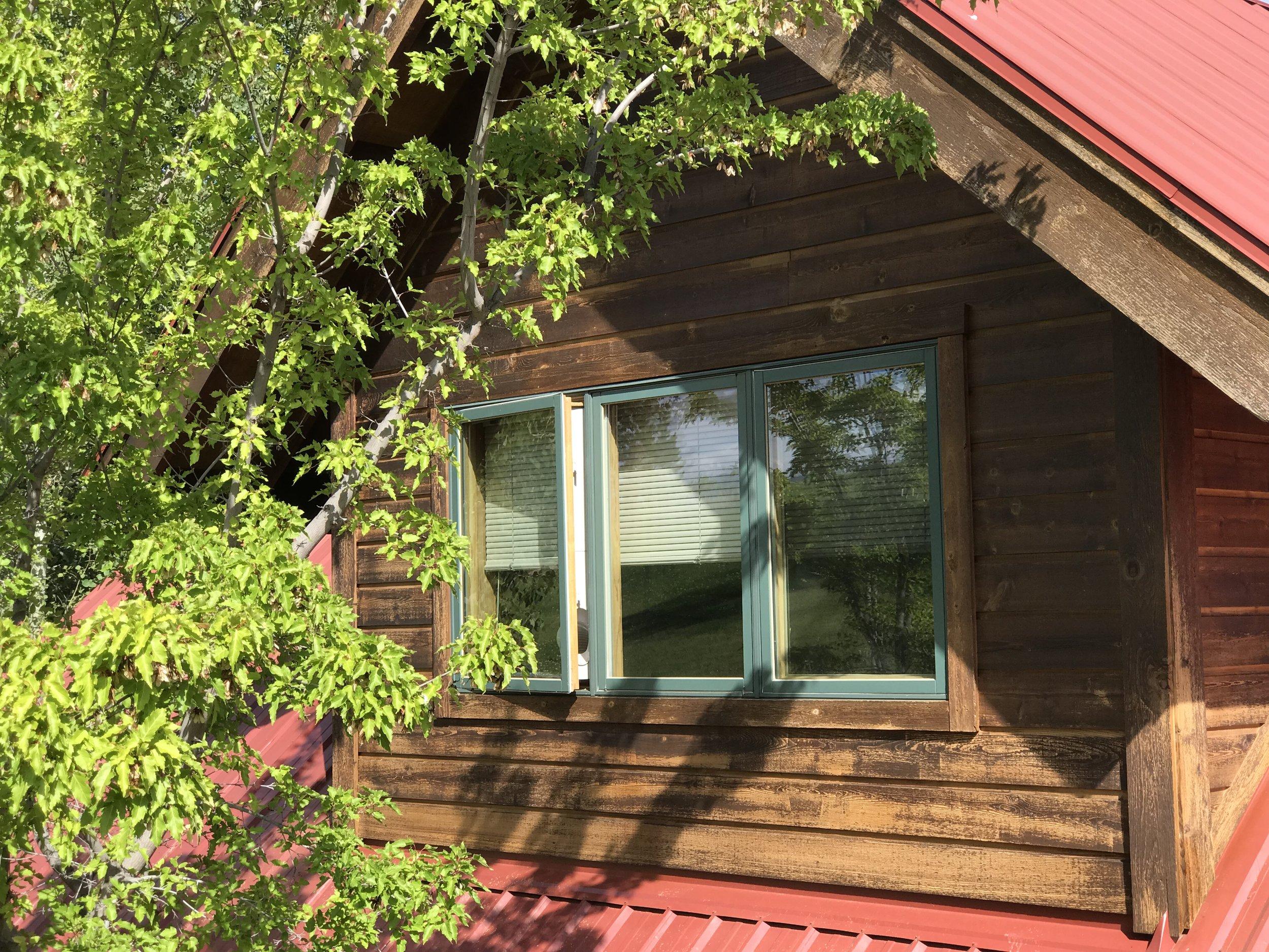 The Upper Room - bedroom window