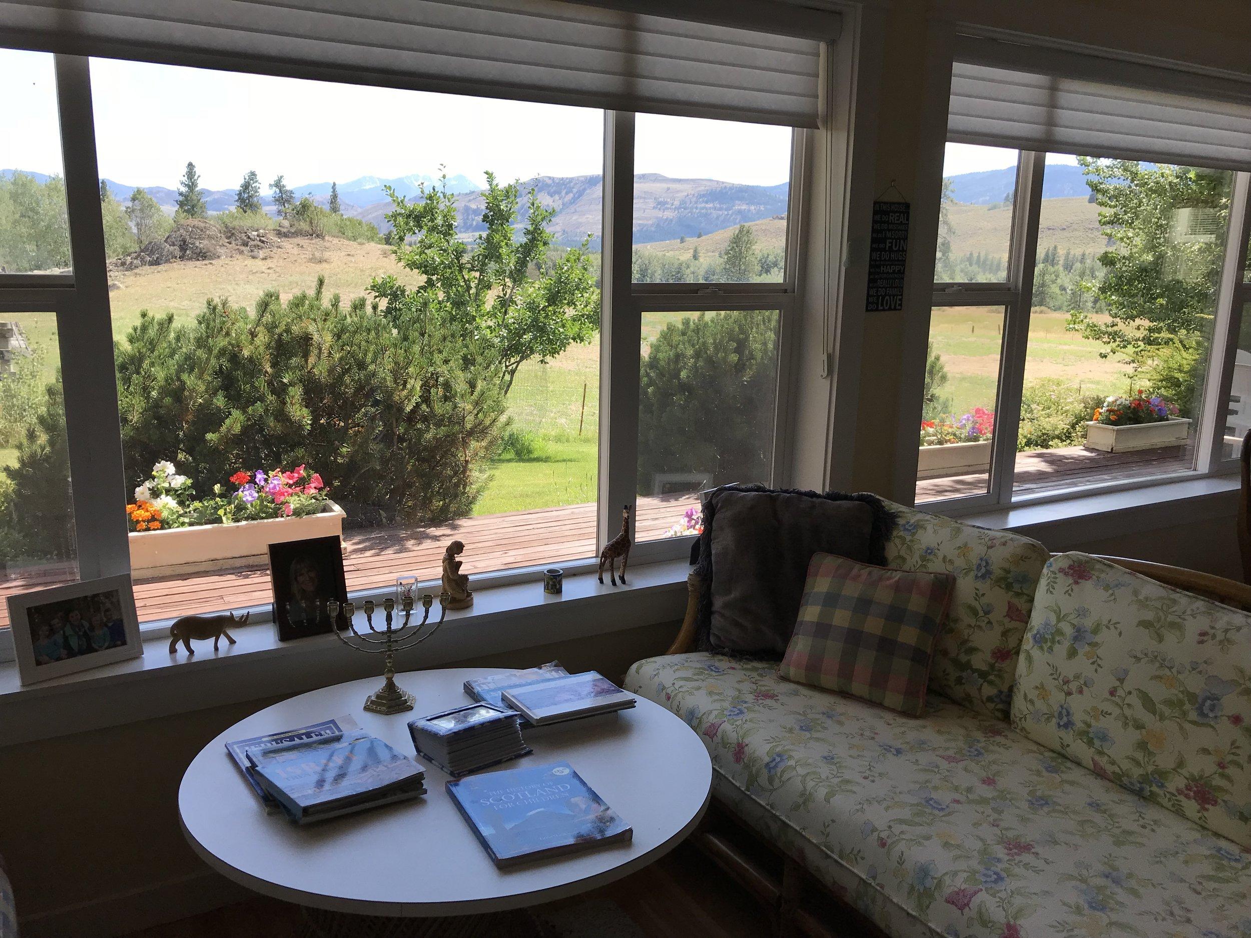 Living room (closer view)