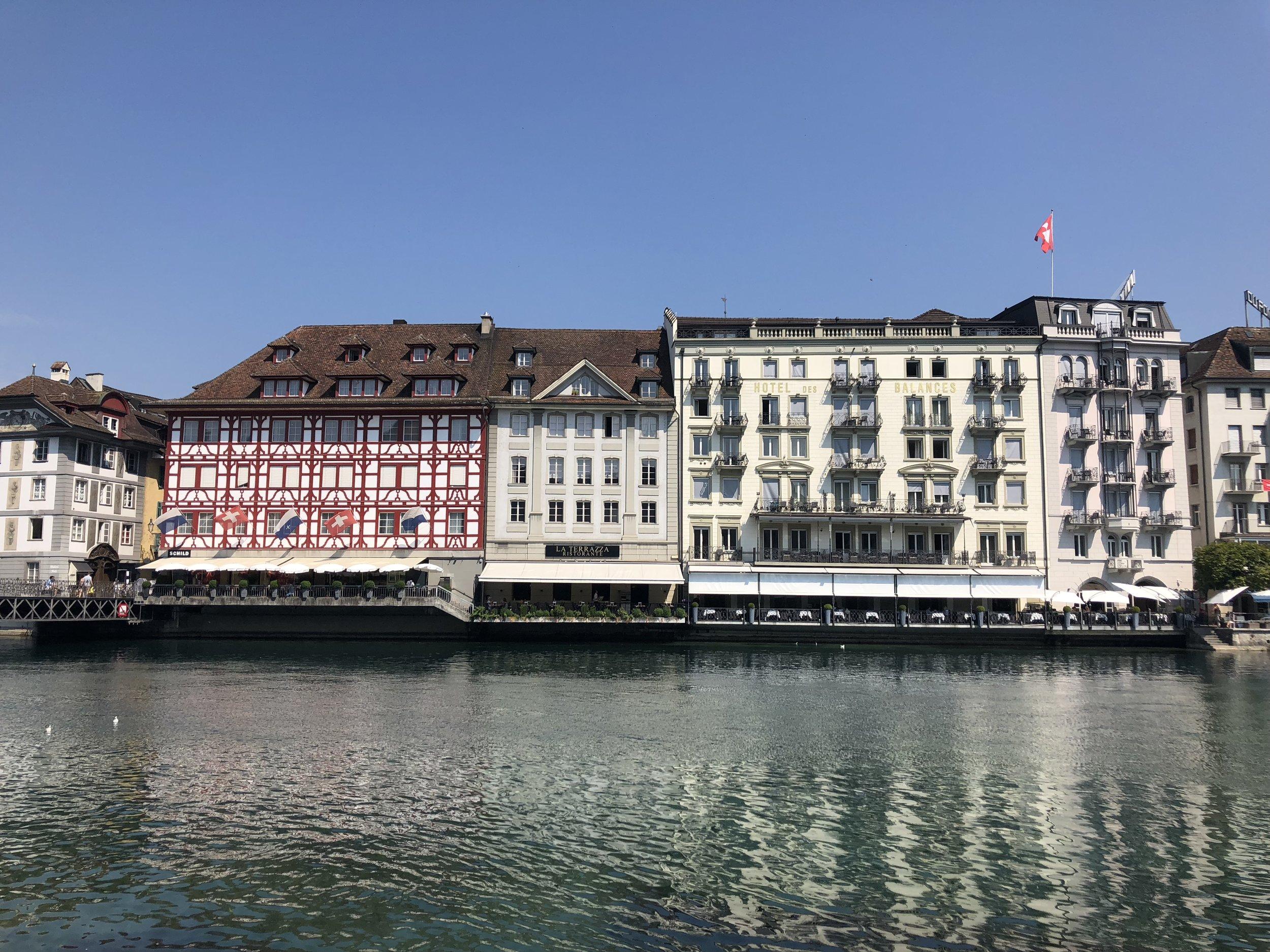 Lake Lucerne Switzerland Lagniappe