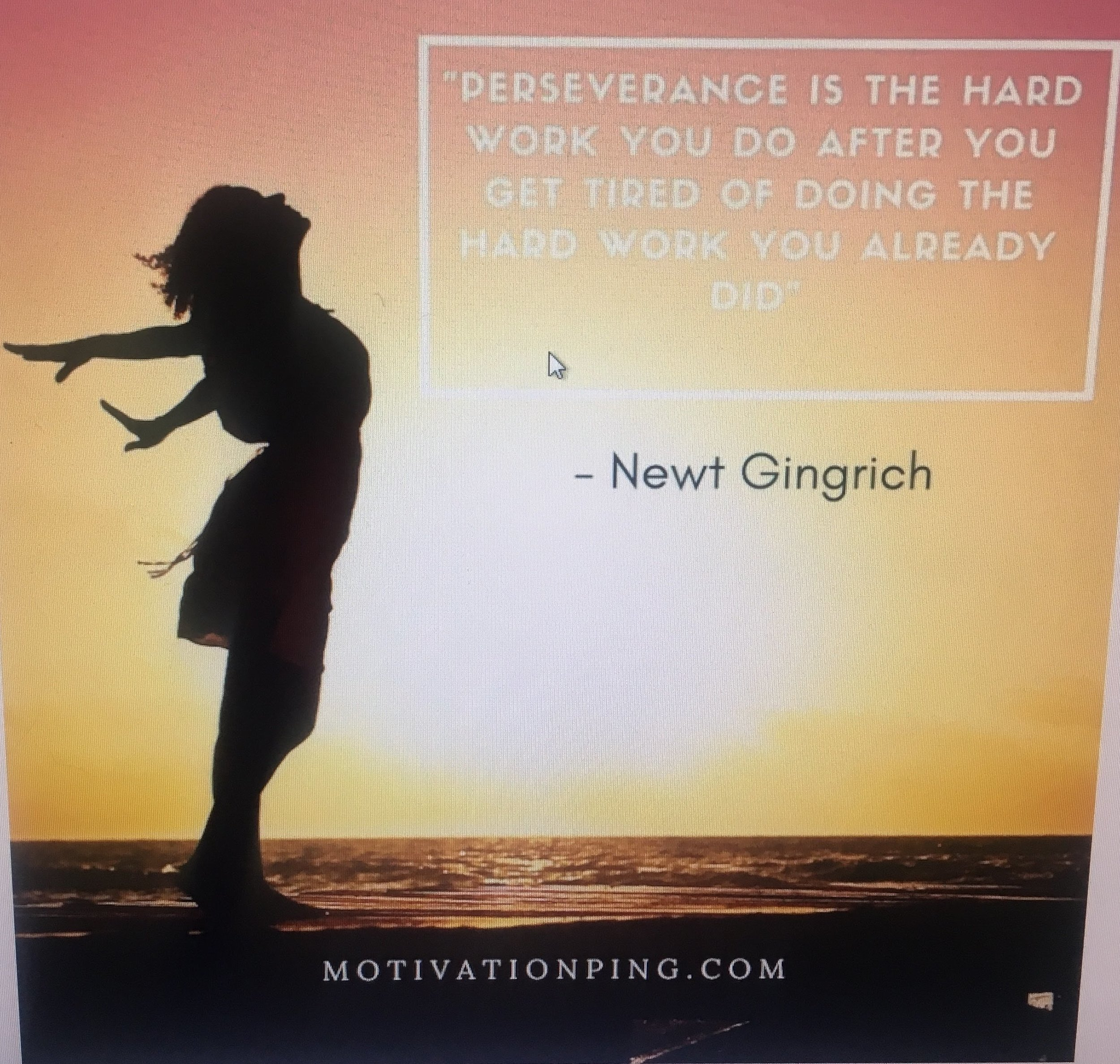 Screengrab from  www.motivationping.com