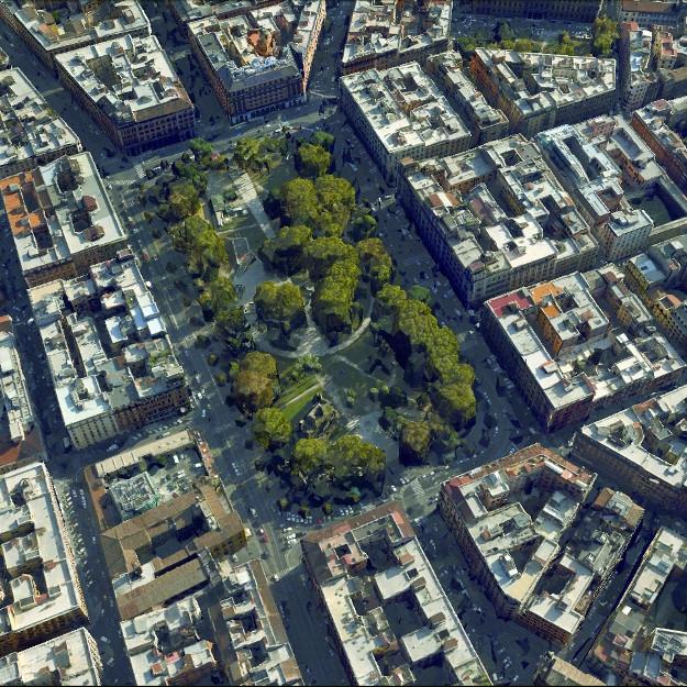 Rom Piazza Vittorio Emanuele II. Luftbild von N.jpg