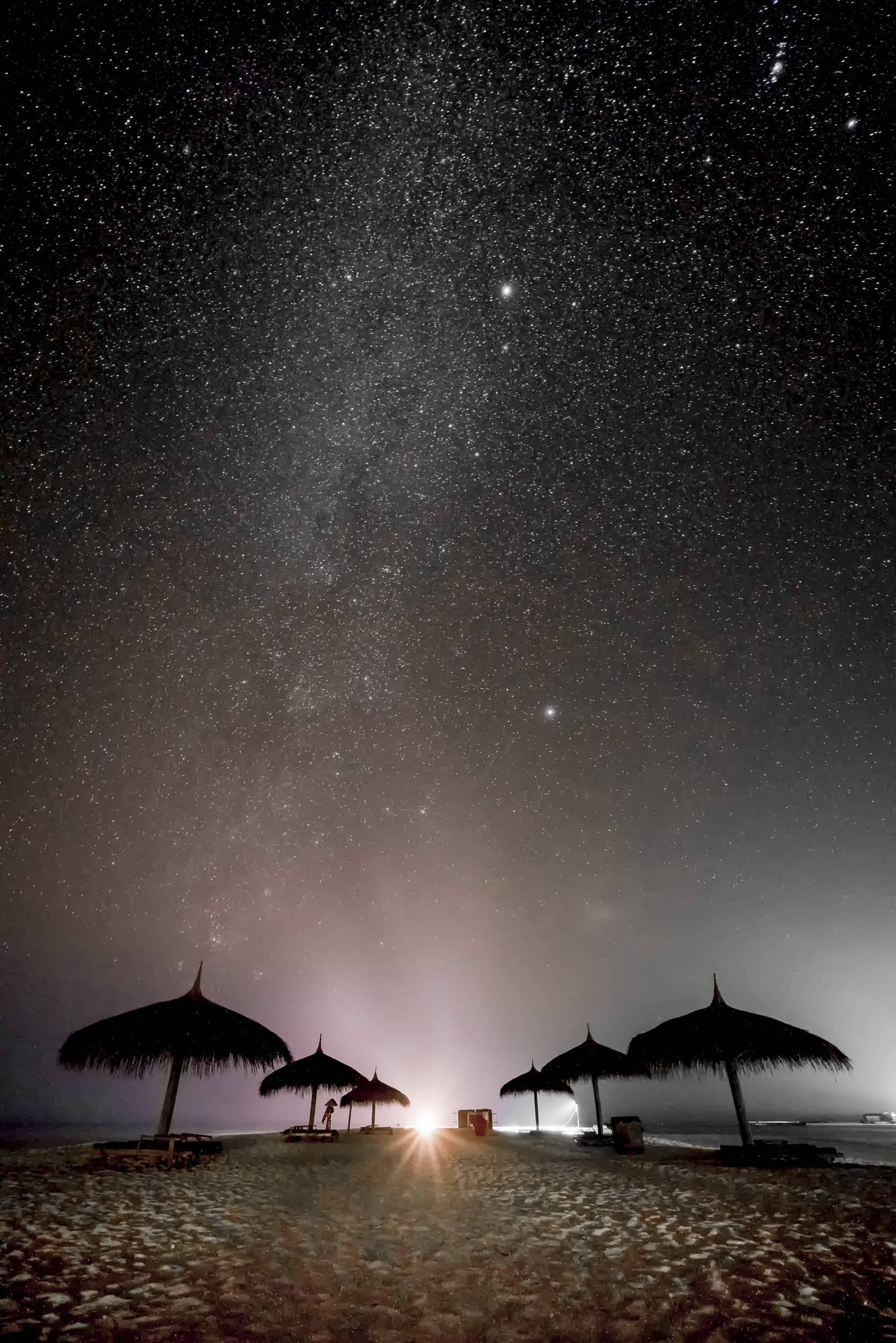 And one of my favorites from Maldives, a night shot of the Milky Way. And great thanks to my patient husband who sat with me late one night to get this image!