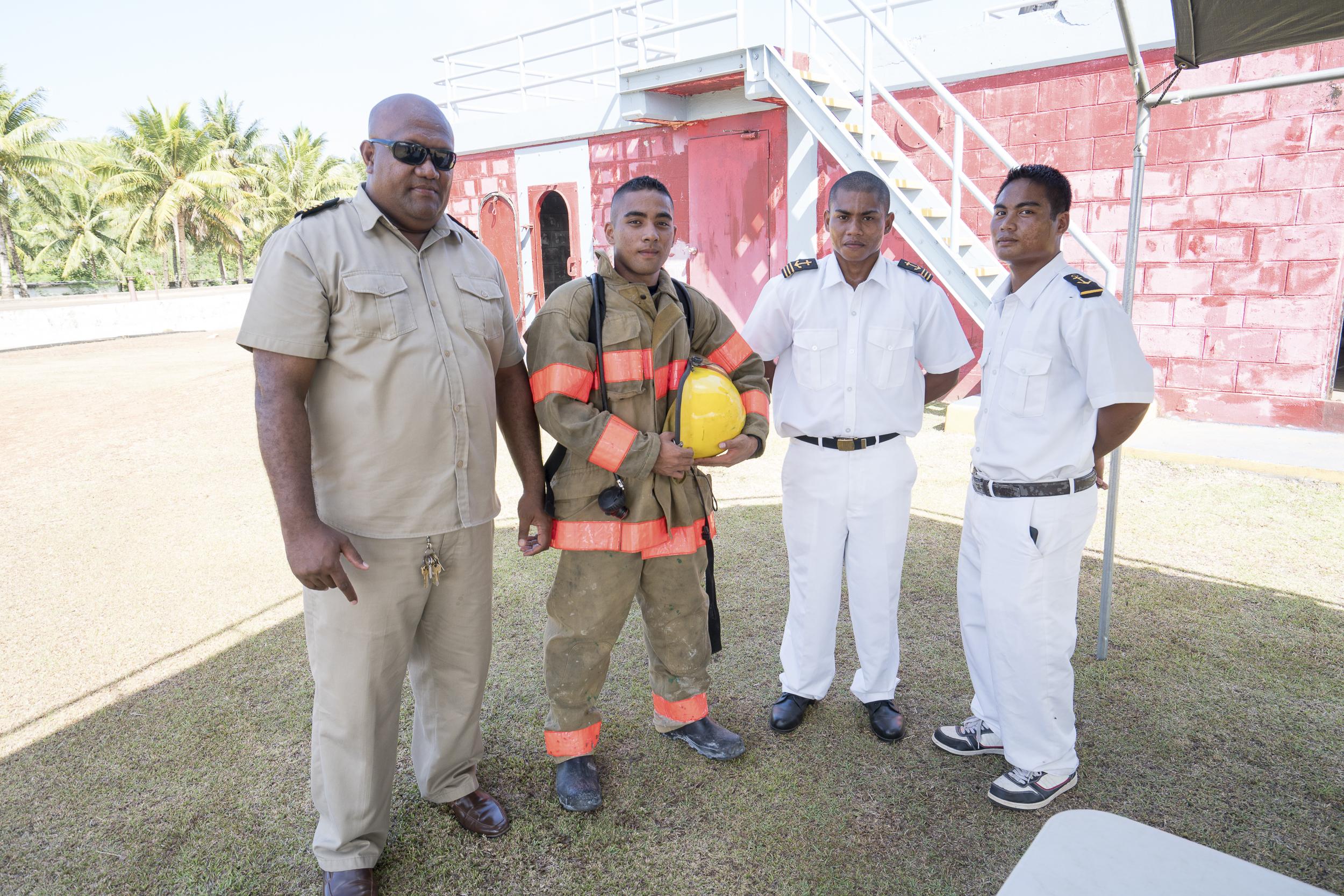 Firefighting crew