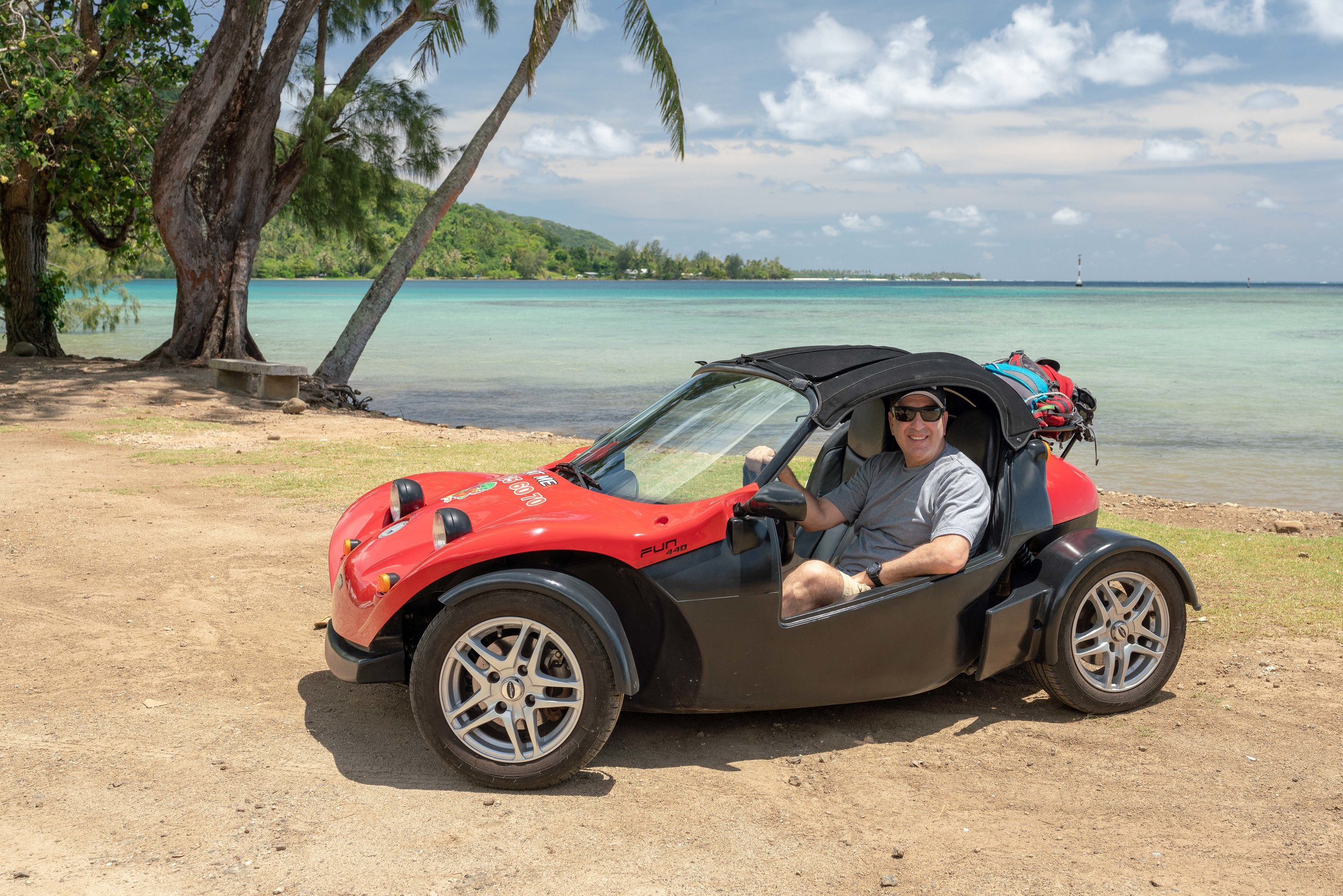 Rented a go cart and toured the entire island. Great fun!