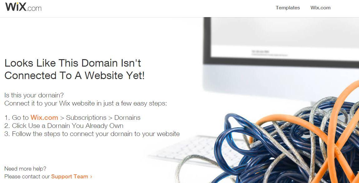 Reagan Website Down.JPG