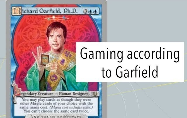 Gaming According to Garfield - Richard Garfield is the father of trading card games. What can we learn about him?Video/Article - Neon