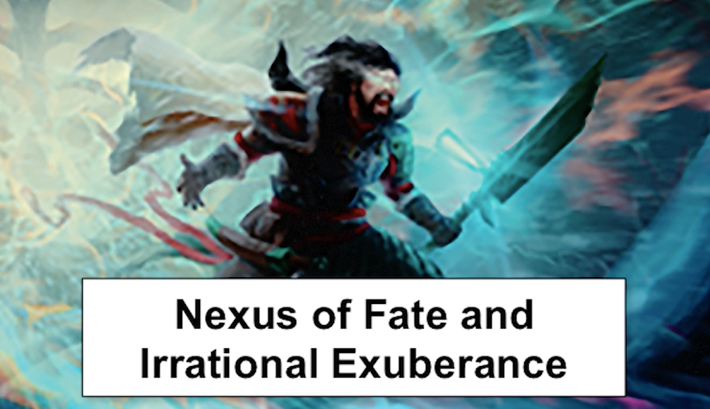 Nexus of Fate Bubble and Irrational Exuberance - What's up with Nexus of Fate?Video - Neon