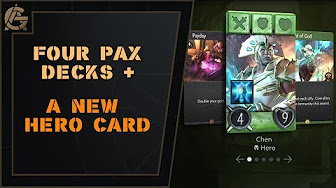 Four PAX Decks + A New Hero - New reveals from the official Artifact site!Video - Artificer's Guild - August 17, 2018