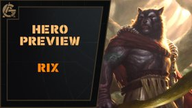 Hero Preview - Rix - What do you think of this mysterious Vhoul hero?Video - The Artificer's Guild - August 20, 2018