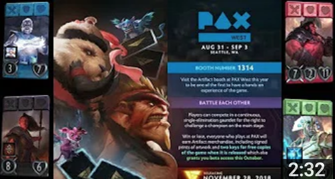PAX Deck Prediction Competition - Do you have what it takes to win the good boy points?Video - AngerMania - August 28, 2018