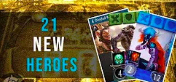 21 New Heroes from PAX - The Artificer's Guild runs down the new heroes we met at PAX.Video - The Artificer's Guild - September 2, 2018