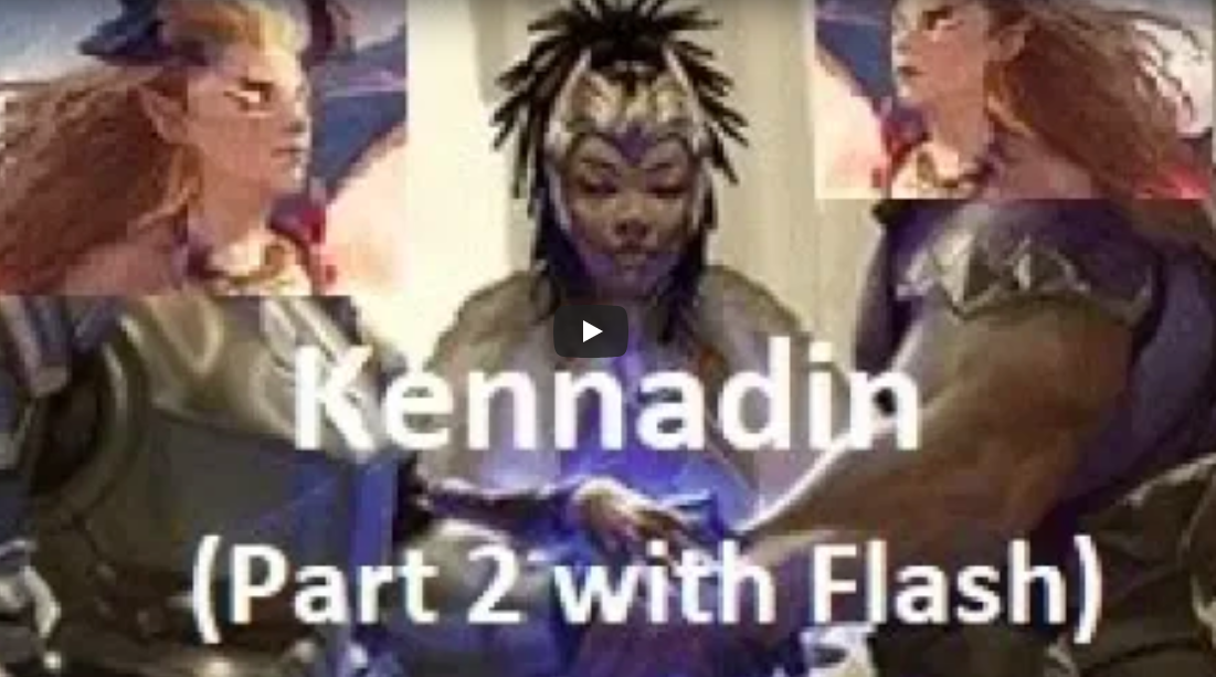 Kennadins with Flash2351 - Flash and LightsOutAce team up to show off a favorite deck.Video - LightsOutAce and Flash - September 6, 2018