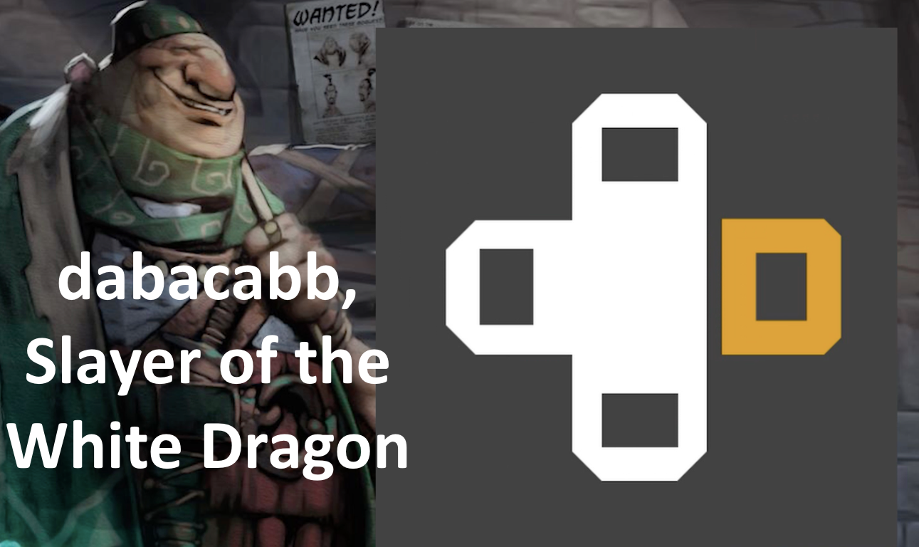 dabacabb, Slayer of the White Dragon - dabacabb went to PAX to get some Artifact action, and he accomplished his mission!Podcast - Secret Shop - September 8, 2018