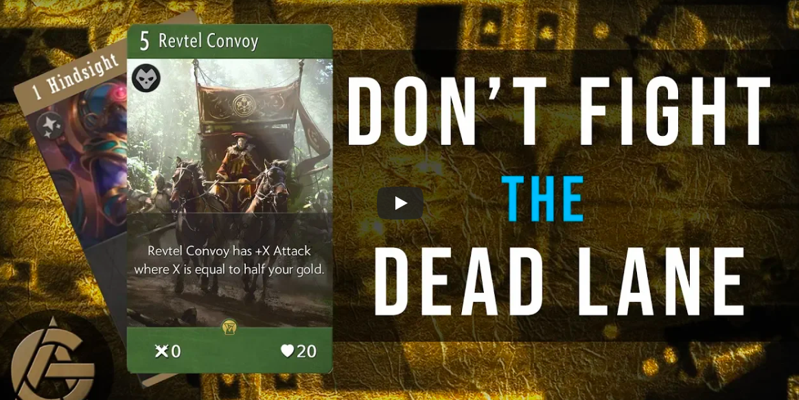 Don't Fight the Dead Lane - Looking back at PAX coverage to see what we can learn.Video - The Artificer's Guild - September 10, 2018