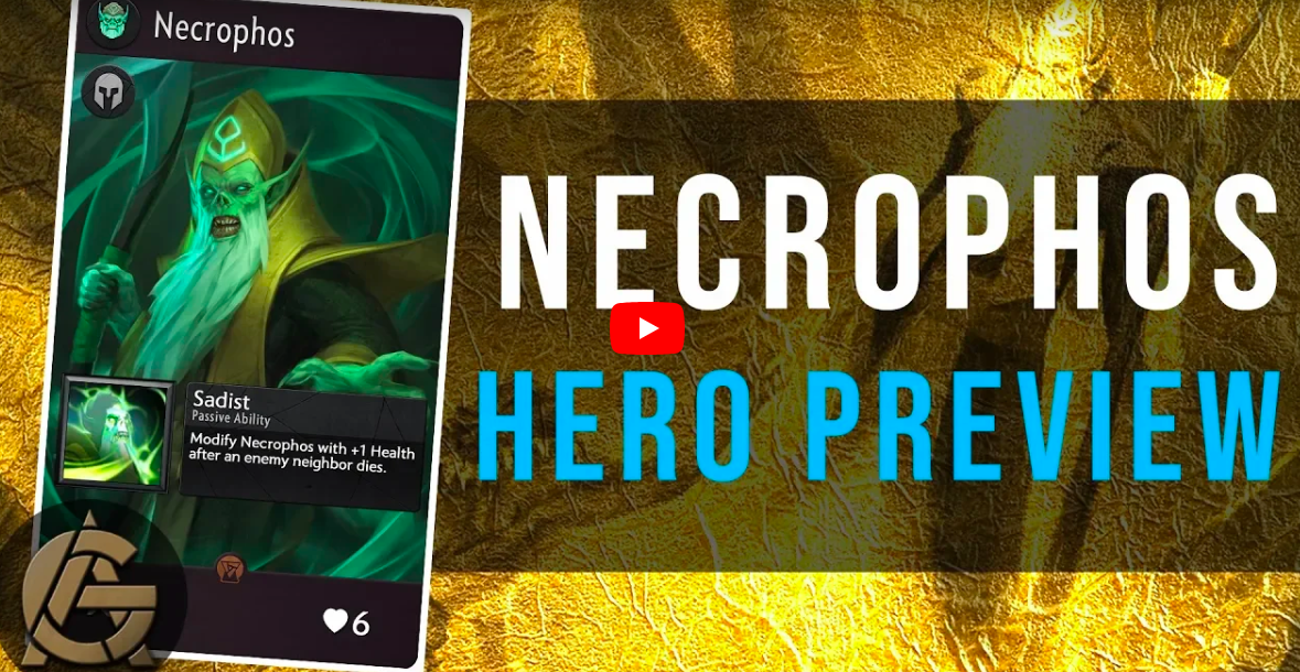 Necrophos - He may not look his best, but he can still hold his own in the lane!Video - The Artificer's Guild - September 14, 2018