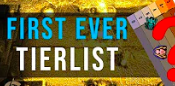 First Ever Tier List - Its never too early for bold predictions and hot takes.Video - The Artificer's Guild - September 19, 2018