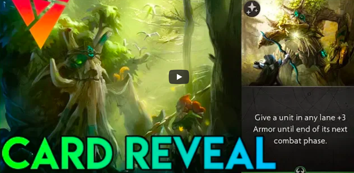 Artifact Card Reveal and Lore - Does Artifact happen before DOTA 2?Video - Angermania - September 28, 2018