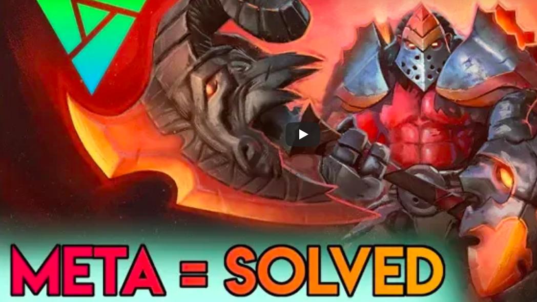 Mono Red Rap - Meta = SolvedVideo - AngerMania - October 6, 2018