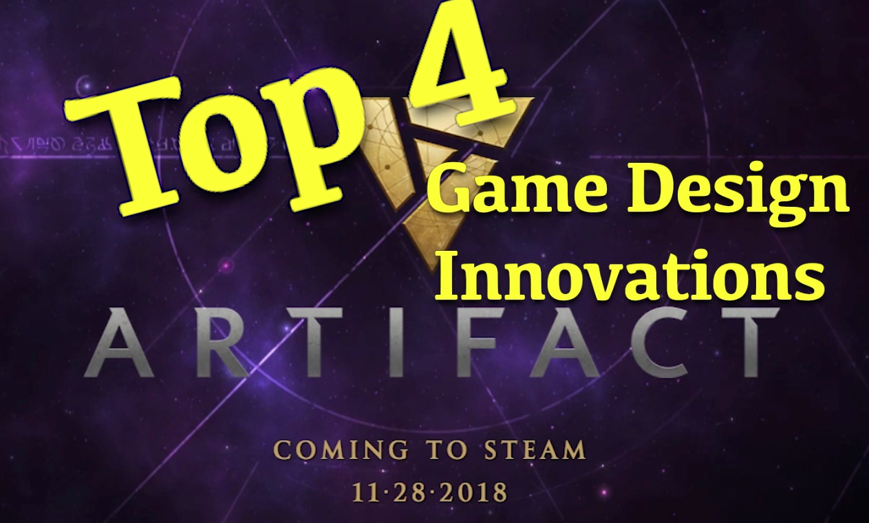 Artifact's Top 4 Game Design Innovations - What game mechanics stand out as the most interesting?Article/Video - Neon - October 19, 2018