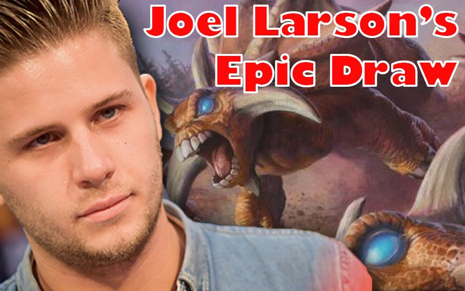 Joel Larsson's Epic Draw - A close game, or a savage punt?Video - Neon - November 13, 2018