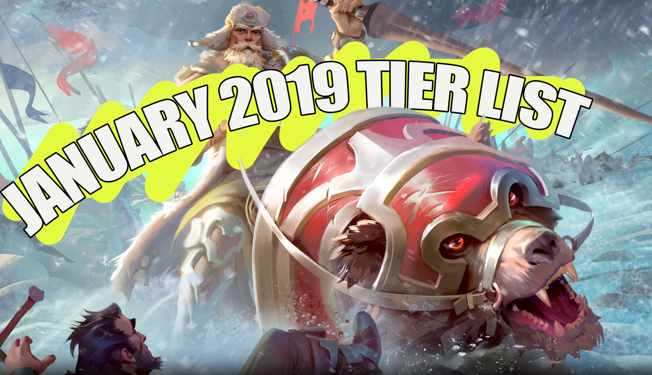 January 2018 Tier List - Let's take a look at the Defiance meta!Article - Neon - January 11, 2019