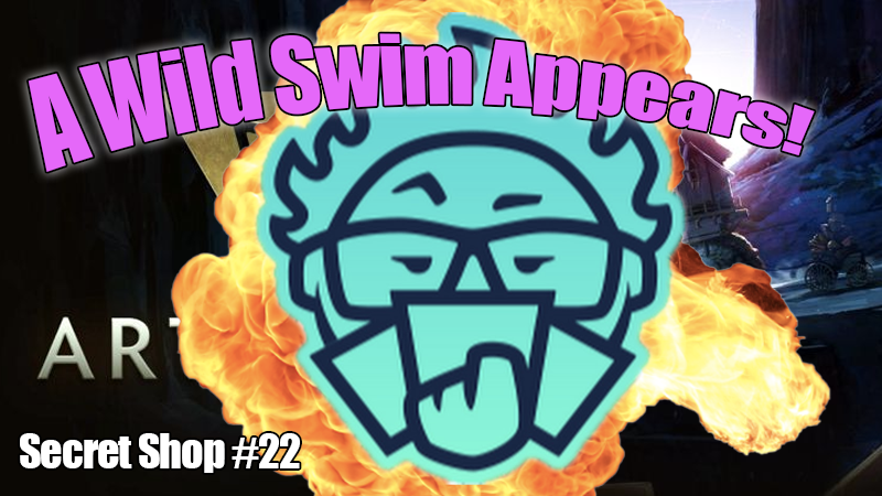 A Wild Swim Appears! - What kind of person shows up mid-way through a podcast?Podcast - Secret Shop - January 23