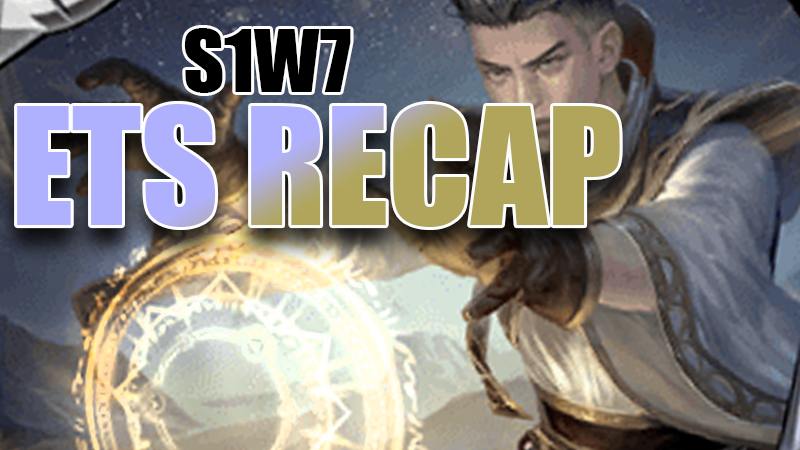 ETS Recap S1W7 - Elysian Maul took it down - but how did that happen?Video - Neon - March 1, 2019