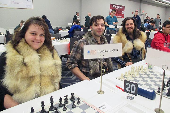 2017 Pan-American Intercollegiate Championship - Photo Cr:1989 U.S. Women's Chess Champion WIM Alexey Root