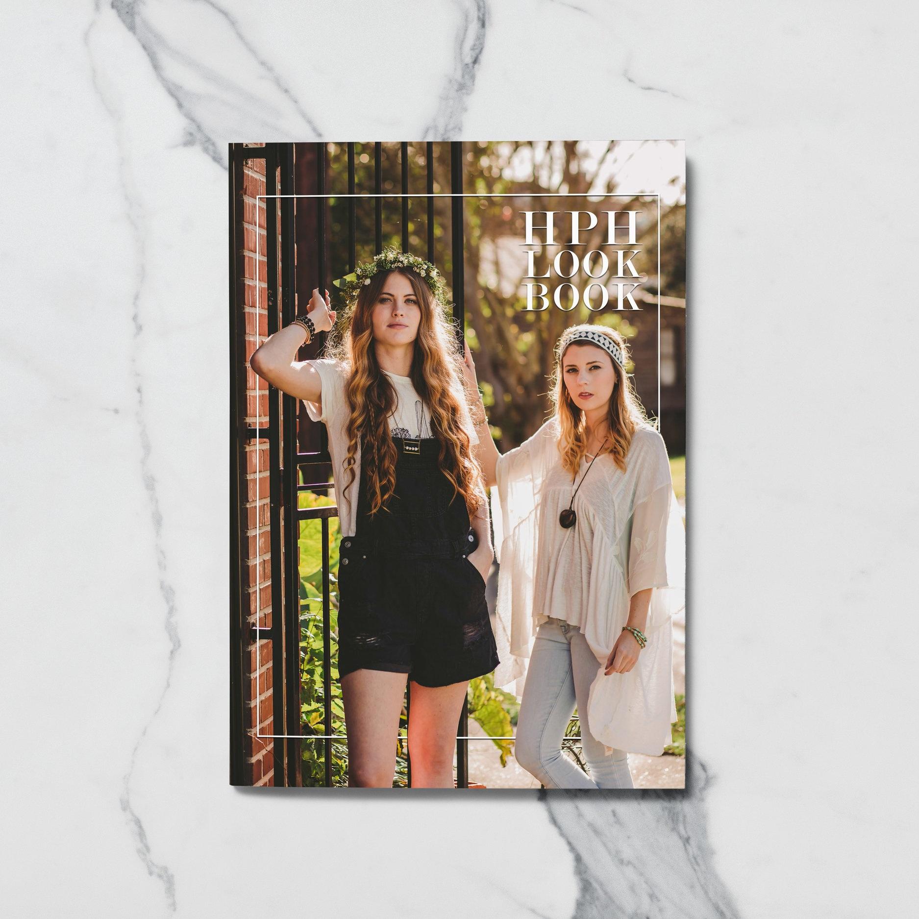 Hands Producing Hope - Lookbook Design