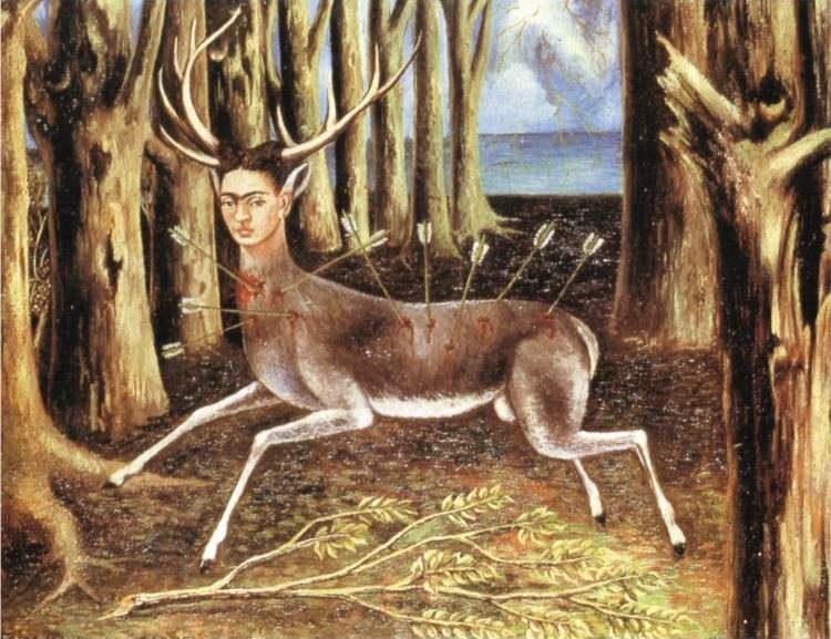 El venado herido (The wounded deer) , 1946