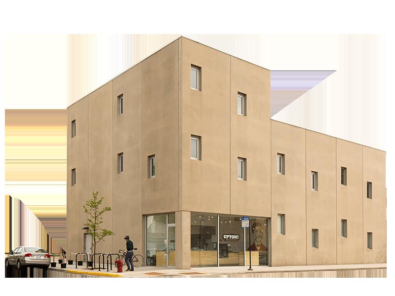 Upton's HQ