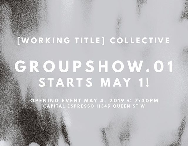 Next week!!! So excited to have our members' work hanging next to each other in the same space!