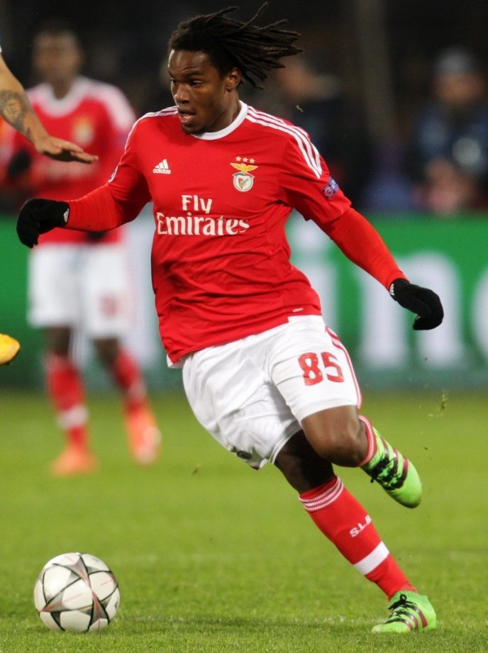 Renato Sanches, who won the award back in 2016. Photo Author: Кирилл Венедиктов.  License Link .