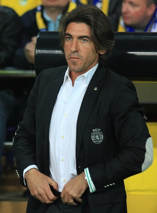 Ricardo Sa Pinto during his time at Sporting CP. Photo author: Руденко Денис.  License link .